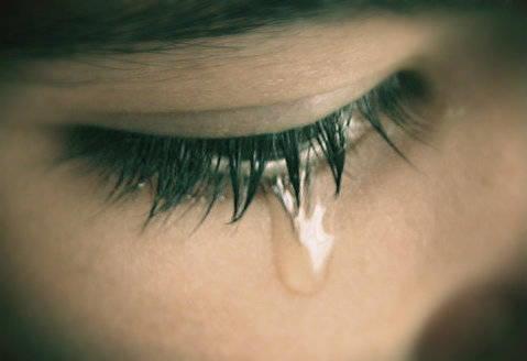 Hoje eu chorei…