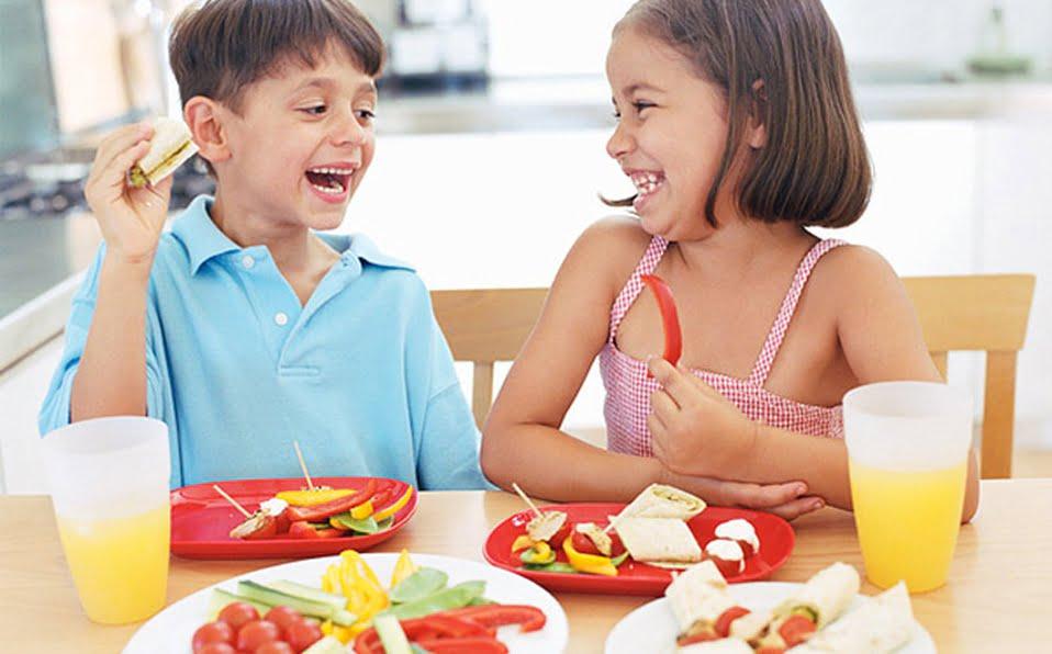 Alimentación saludable para niños de 6 a 10 años en edad escolar